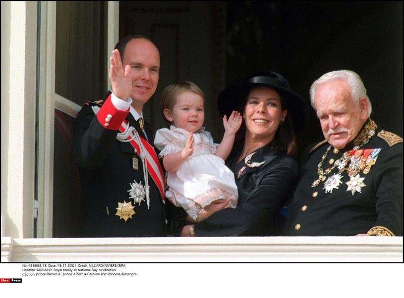 Książę Albert z rodziną /SIPA PRESS  /East News