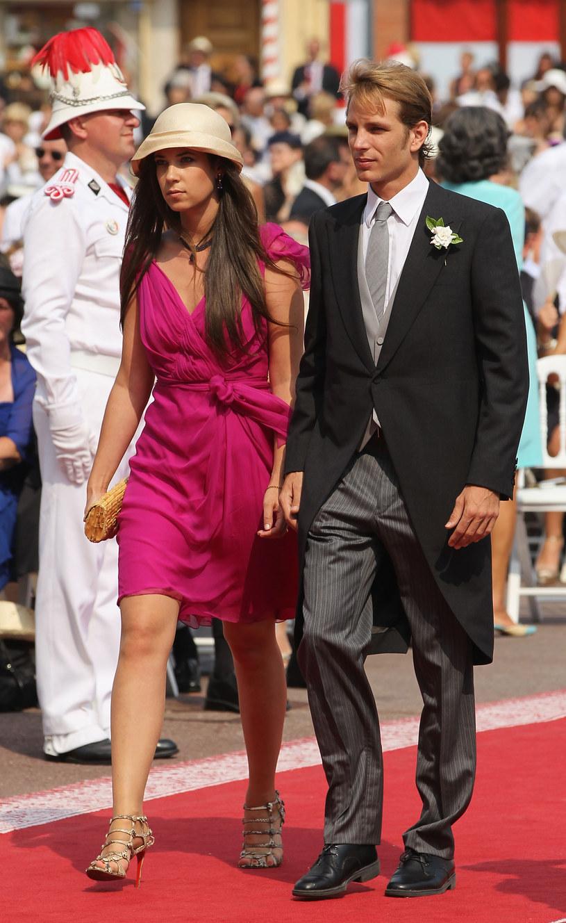 Książę Andrea i jego wybranka /Getty Images