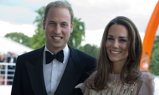 Książę Cambridge William i jego żona Catherine /AFP