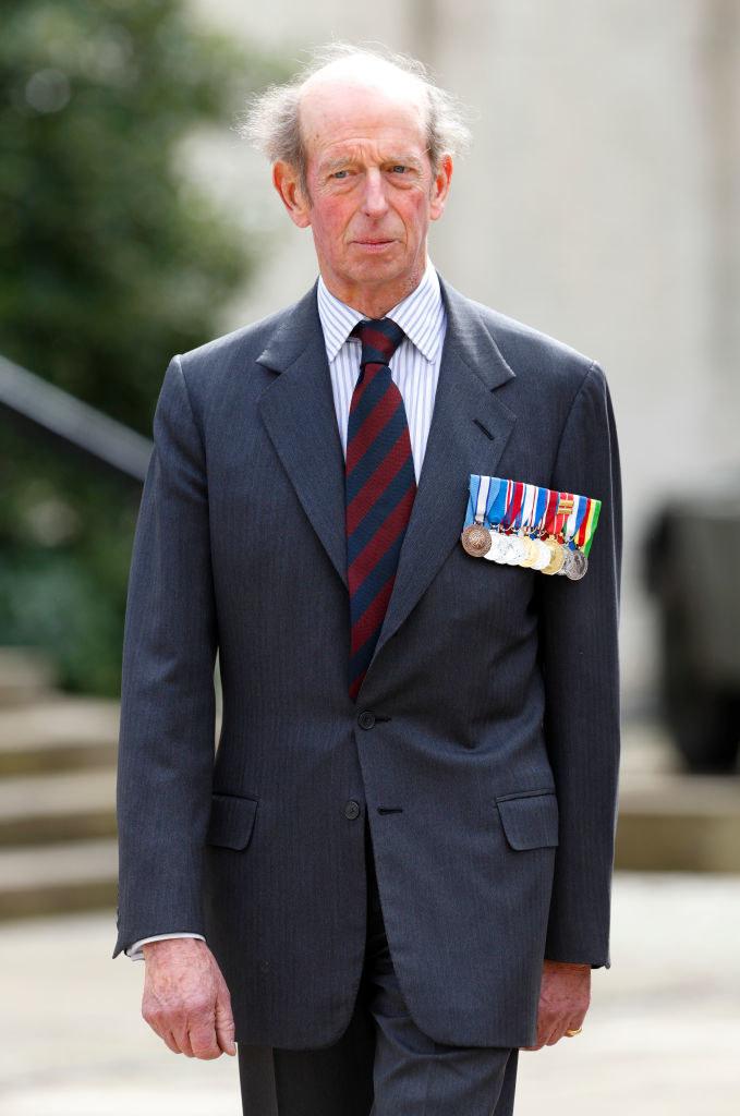 Książę Edward będzie towarzyszył królowej w czasie czerwcowej parady /Indigo/Getty Images /Getty Images