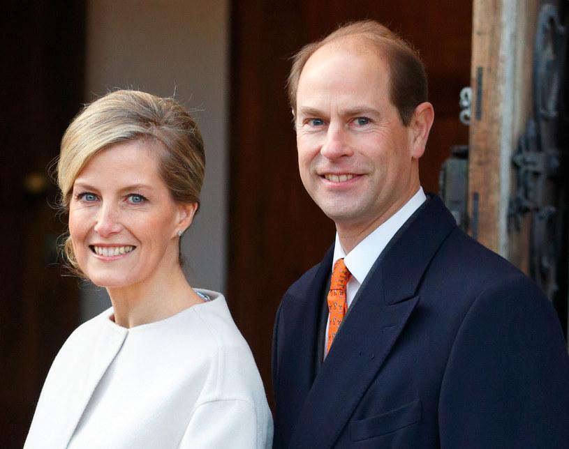 Książę Edward z żoną Sophią /Max Mumby/Indigo /Getty Images