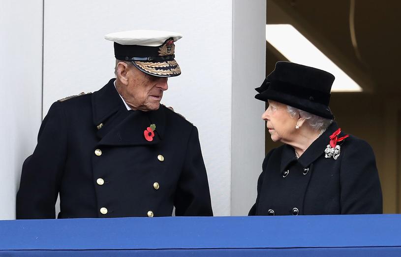 Książę Filip i królowa Elżbieta II /Chris Jackson /Getty Images