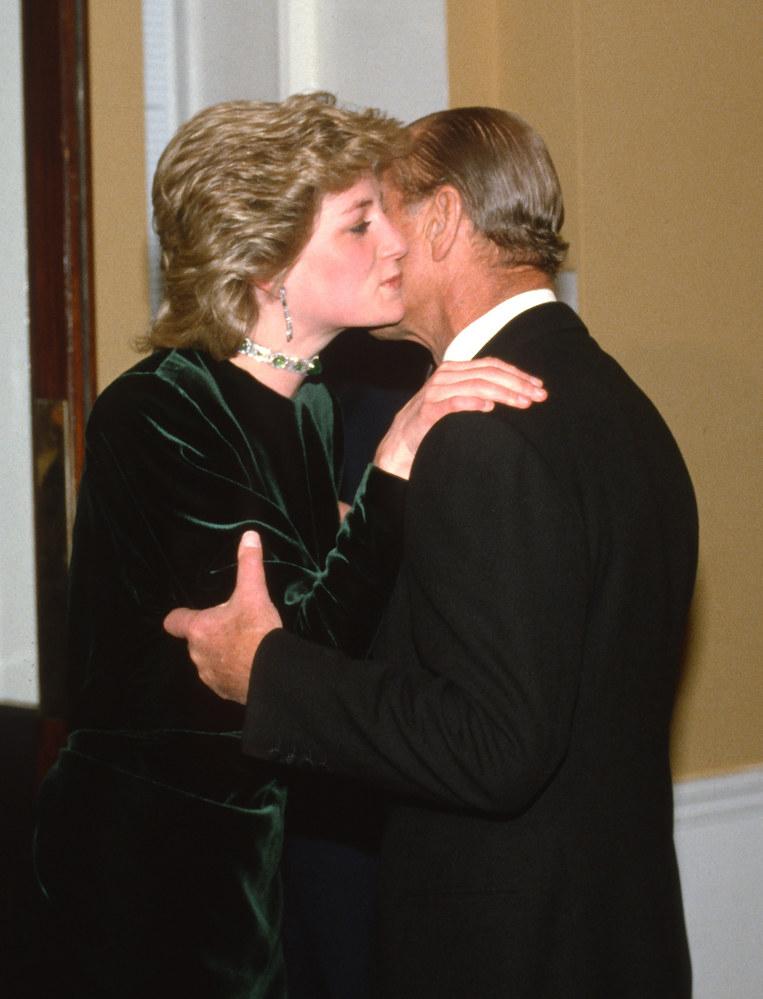 Książę Filip i księżna DIana /Anwar Hussein /Getty Images