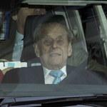 Książę Filip, mąż królowej Elżbiety, wyszedł ze szpitala