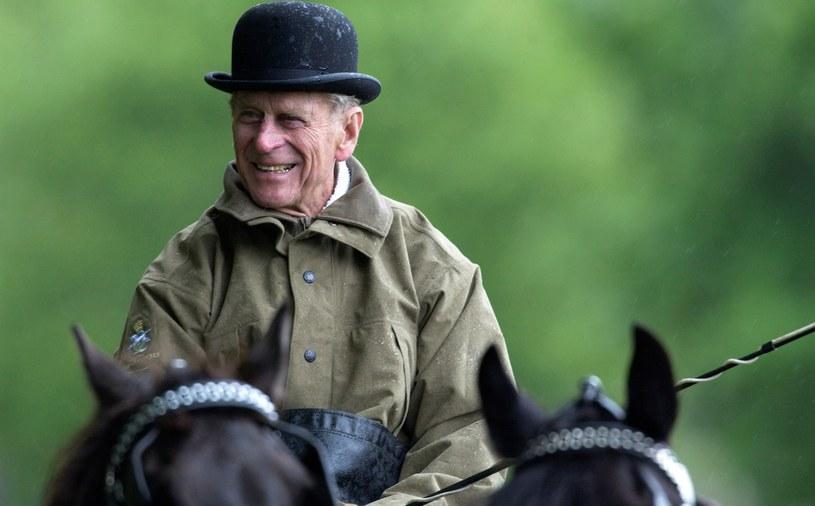 Książę Filip miał przyjemność uczestniczyć w zawodach zaprzęgów konnych nad Bałtykiem. Trasa liczyła 33 kilometry /Getty Images