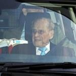 Książę Filip nadal w szpitalu. Co mu dolega?