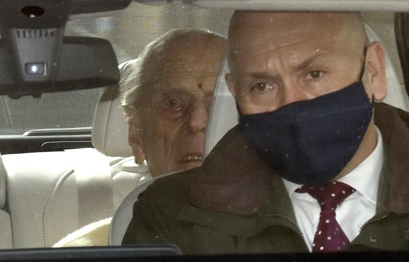 Książę Filip opuścił szpital po miesięcznej hospitalizacji /Getty Images