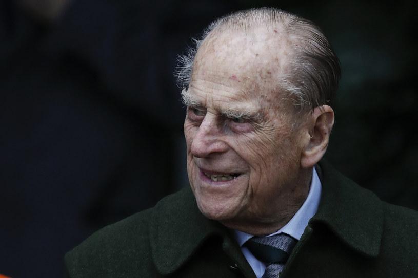 Książę Filip zmarł 9 kwietnia w zamku w Windsorze. Miał wówczas 99 lat /ADRIAN DENNIS /AFP