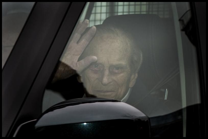 Książę Filip /Ben Stevens / i-Images /East News