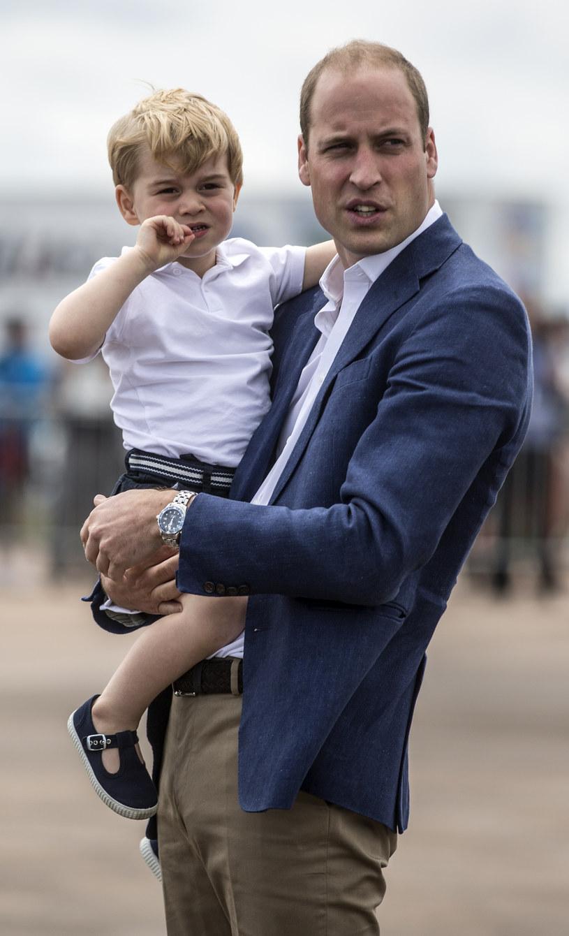 Książę George i książę William /WPA Pool /Getty Images
