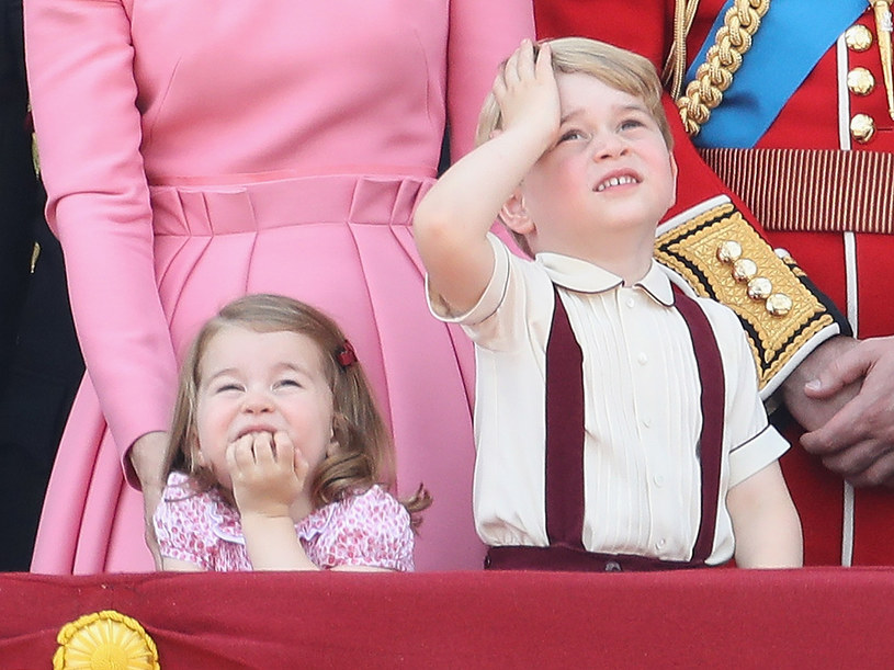 Książę George i księżniczka Charlotte /Chris Jackson /Getty Images