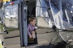 Książę George kończy 4 lata. Już wróżą mu karierę pilota