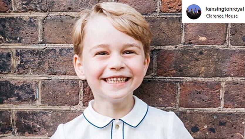 Książę George kończy 5 lat