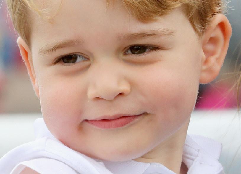Książę George ma już 3 lata /Getty Images