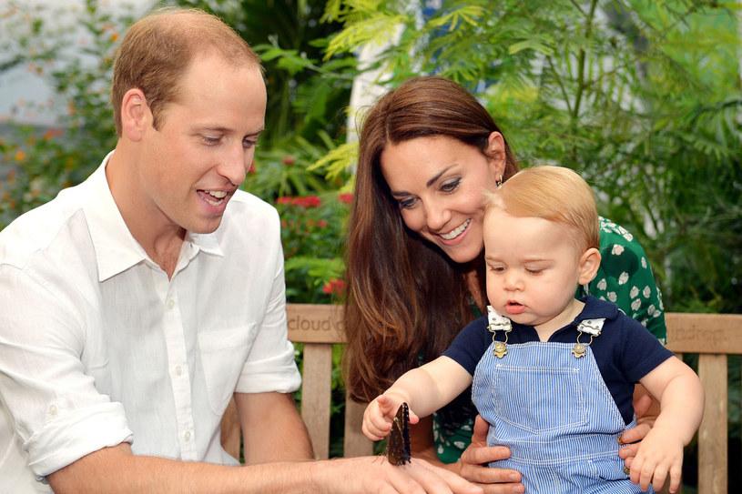 Książę George nie jest już jedynakiem. /Getty Images