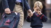 Książę George poszedł do szkoły