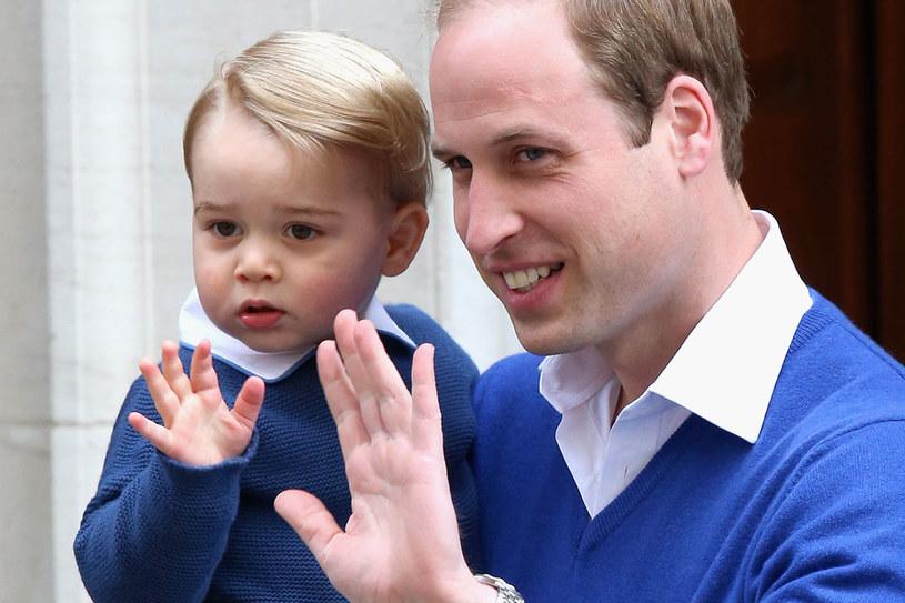 Książę George powitał siostrę jeszcze w szpitalu /Getty Images