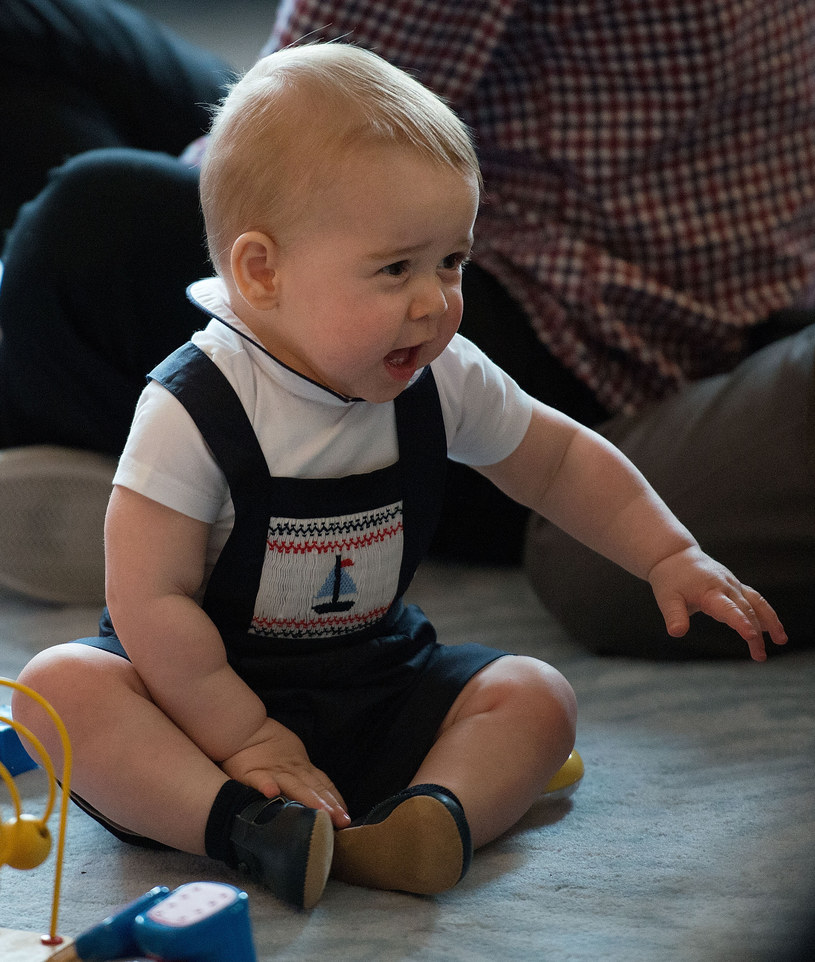 Ksiażę George w Nowej Zelandii /AFP