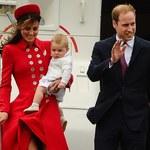 Książę George z pierwszą zagraniczną wizytą
