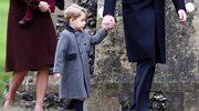 Książę George znów skradł show rodzinie królewskiej