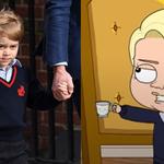 Książę George został bohaterem kreskówki dla dorosłych! Będzie pozew?