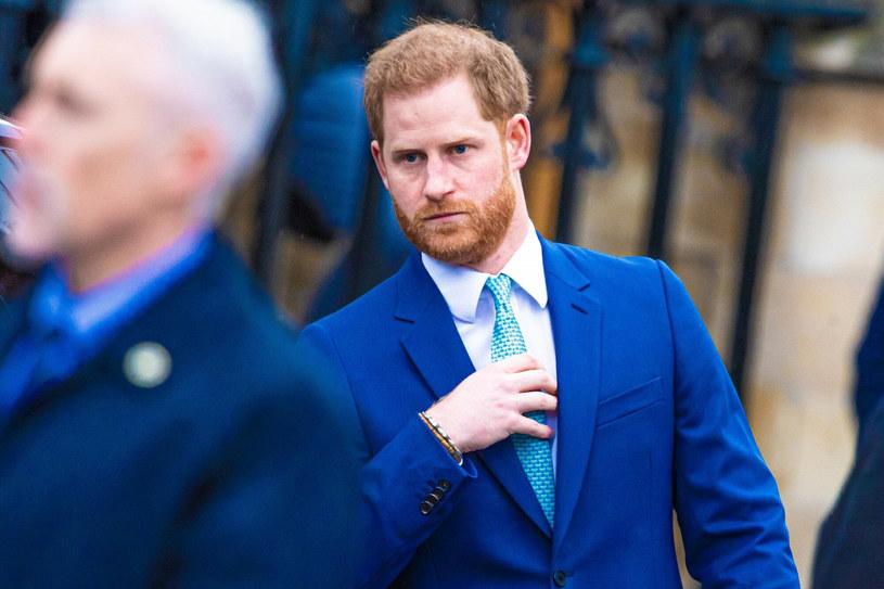Książę Harry dowiedział się o śmierci dziadka od lokalnej policji /BACKGRID /East News