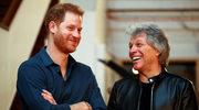 """Książę Harry i Bon Jovi w utworze """"Unbroken"""". """"Ten utwór jest nawiedzony"""""""