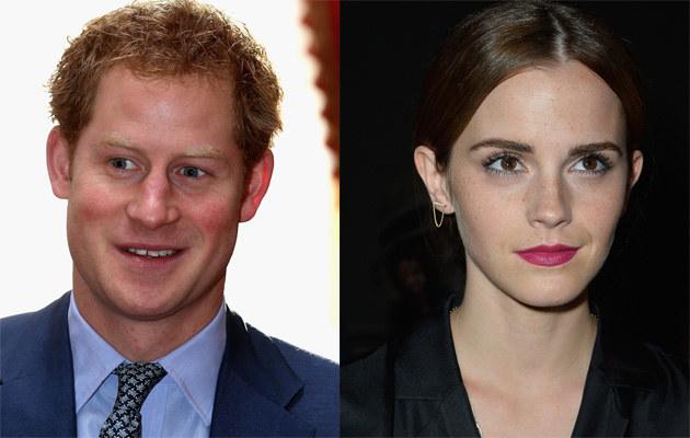 Książę Harry i Emma Watson mają romans?! /Chris Jackson, Pascal Le Segretain /Getty Images
