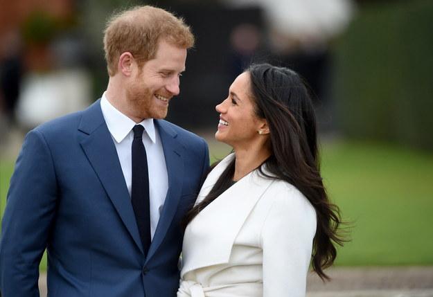 Książę Harry i jego żona Meghan Markle /FACUNDO ARRIZABALAGA /PAP/EPA