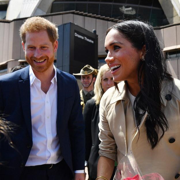 Książę Harry i jego żona Meghan z wizytą w Australii /BRENDAN ESPOSITO /PAP/EPA
