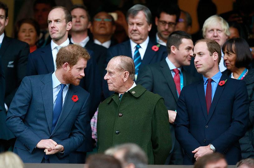Książę Harry i książę Filip /Phil Walter /Getty Images