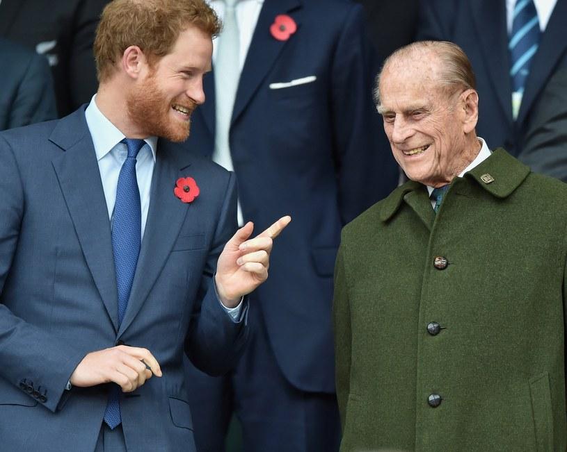 Książe Harry i książę Filip / Max Mumby/Indigo / Contributor /Getty Images