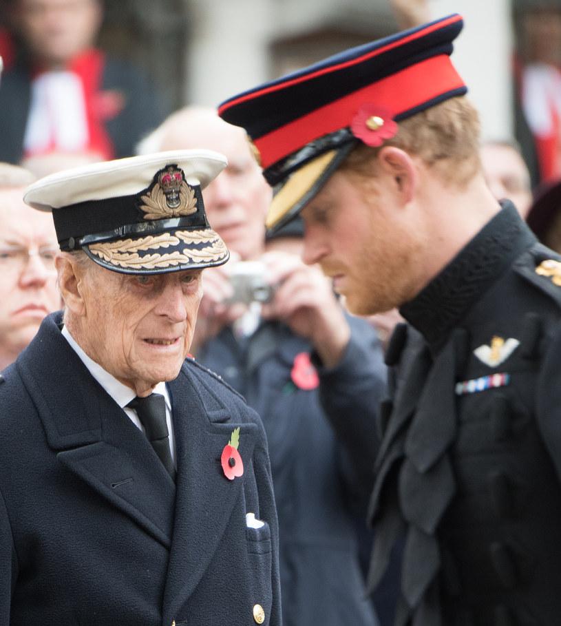 Książę Harry i książę Filip / Samir Hussein / Contributor /Getty Images
