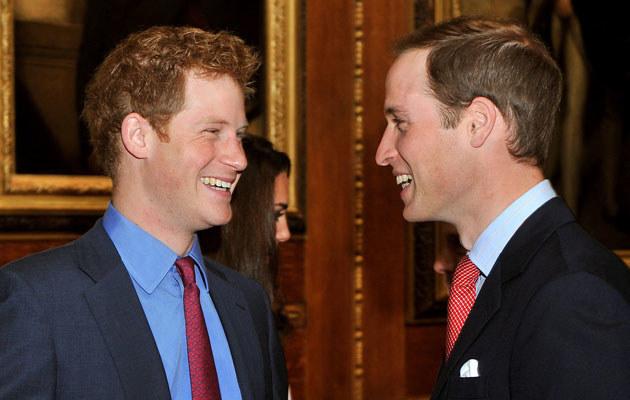 Książę Harry i książę William /WPA Pool /Getty Images