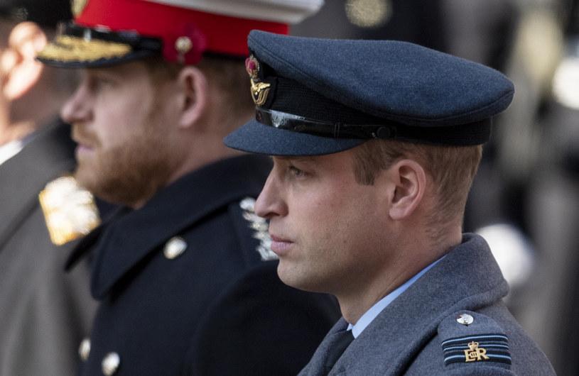 Książę Harry i książę William /Mark Cuthbert /Getty Images