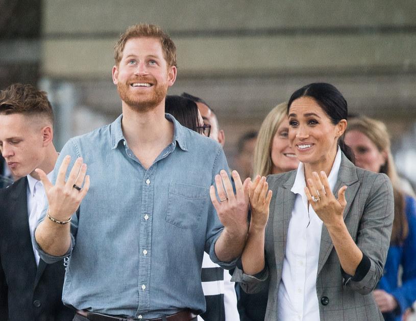 Książę Harry i księżna Meghan. Australia 2018 /Getty Images