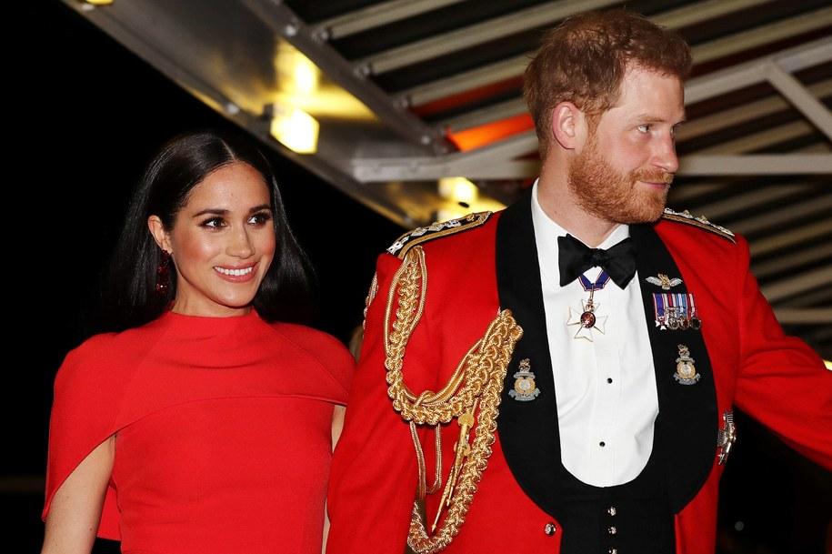 Książę Harry i księżna Meghan jeszcze w roli wysokich rangą członków brytyjskiej rodziny królewskiej, marzec 2020 /Photoshot    /PAP