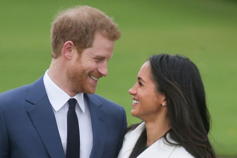 Książę Harry i księżna Meghan nie posiadają się ze szczęścia /East News
