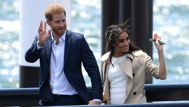 Książę Harry i księżna Meghan /BRENDAN ESPOSITO /PAP/EPA
