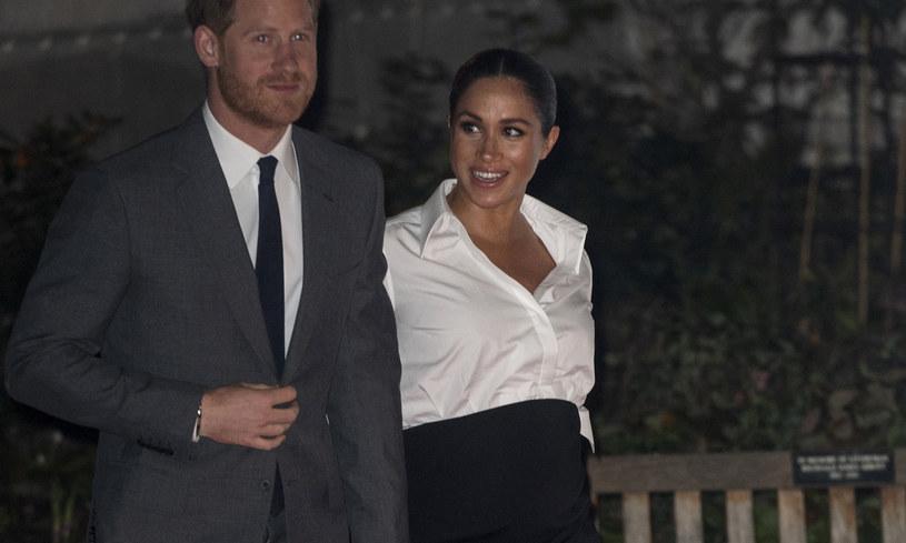 Książę Harry i księżna Meghan /Mark Cuthbert /Getty Images