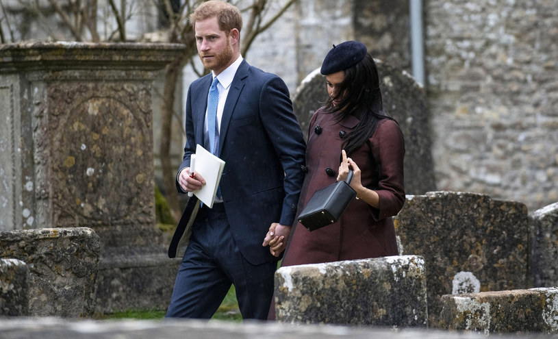 Książę Harry i księżna Meghan /Andrew Lloyd / SplashNews.com /East News