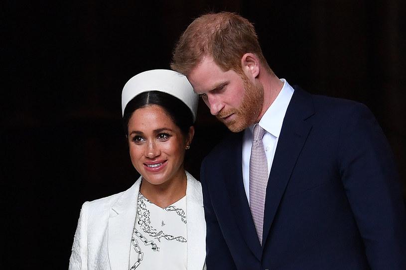 Książę Harry i księżna Meghan /BEN STANSALL /AFP