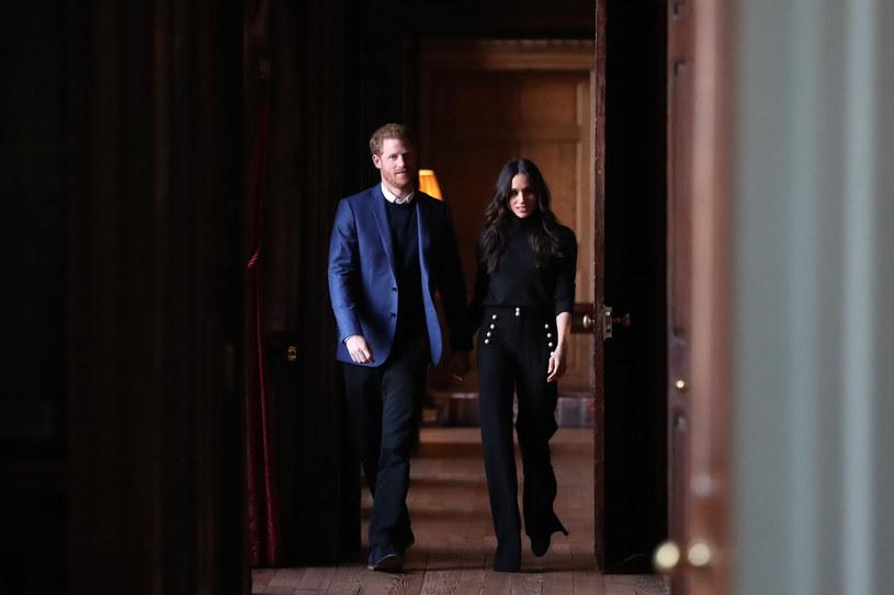 Książę Harry i Megan Markle /Andrew Milligan    /AFP