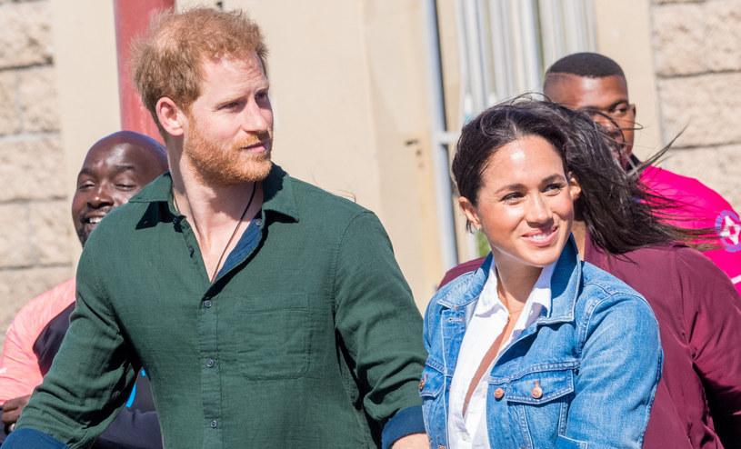 Książę Harry i Meghan Markle są pod nieustannym obstrzałem fotoreporterów /Splash News /East News