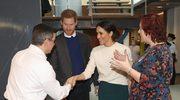 Książę Harry i Meghan Markle spotkali się z młodymi wynalazcami