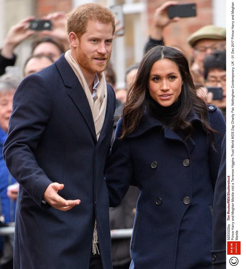 Książę Harry i Meghan Markle /Tim Rooke/REX/Shutterstock /East News