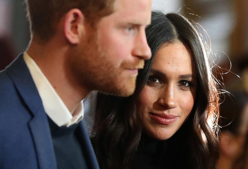 Książę Harry i Meghan Markle /Andrew Milligan    /AFP