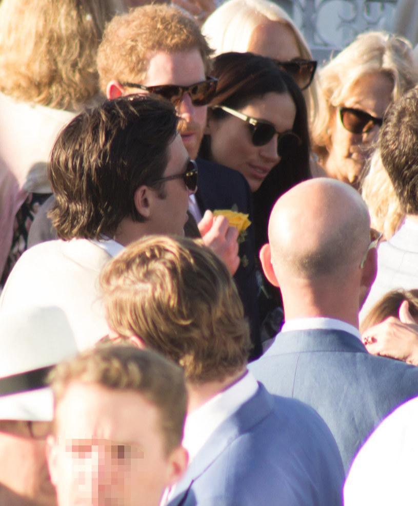 Książę Harry i Meghan Markle /Ashley Anguin / Splash News /East News