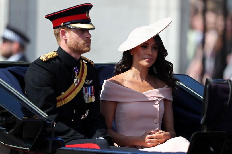 Książę Harry i Meghan Markle /East News