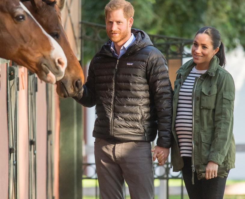 Książę Harry i Meghan Markle /Samir Hussein /Getty Images